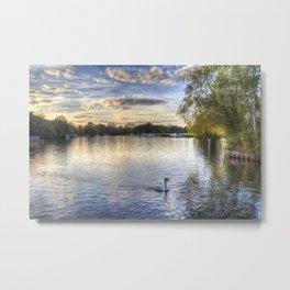 River Thames  Sunset Metal Print
