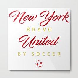 New York Bravo Metal Print