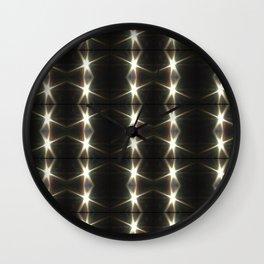 Eclipse Photo mod pattern2 Wall Clock