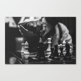 The Art of Chessboxing Canvas Print