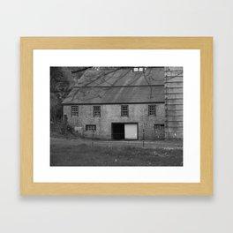 Parson's Barn Framed Art Print