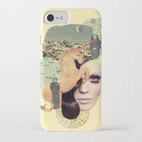 aquarius iPhone & iPod Cases featuring Aquarius by Francisca Pageo