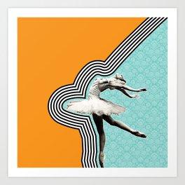 Flexible.Powerful.Beautiful Art Print