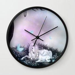 Wonderful unicorn Wall Clock