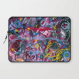 """""""racing thoughts"""" Laptop Sleeve"""