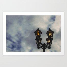 Light Post Art Print