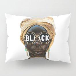 Black Woman Pillow Sham