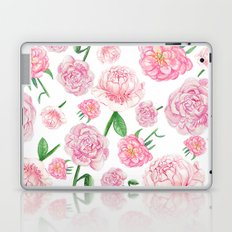Watercolor Peonies Laptop & iPad Skin
