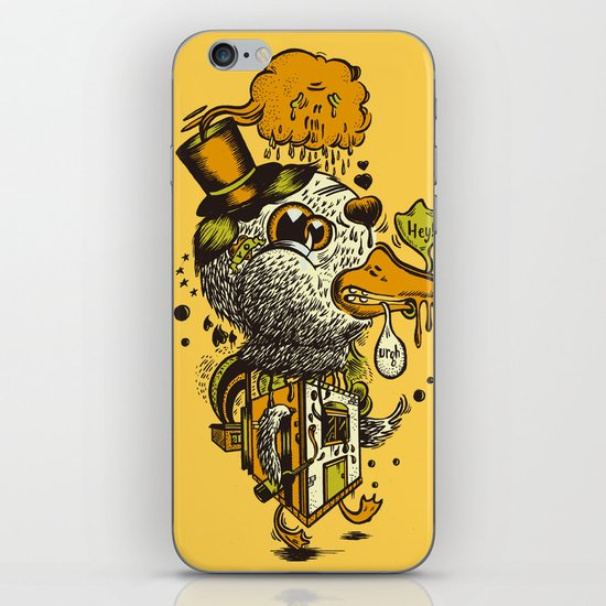 A Disorientated Duck Goes For A Stroll iPhone & iPod Skin