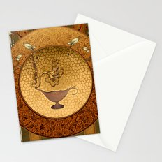 The lamp of wishes Stationery Cards