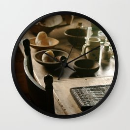 Lovely Wood Wall Clock