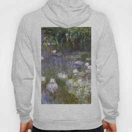 Water Lilies 1922 by Claude Monet Hoody