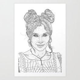 Dominique Art Print