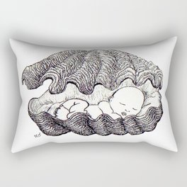 Sleeping baby Rectangular Pillow