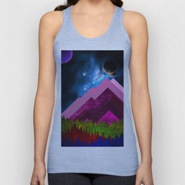 Purple Nature Unisex Tank Top