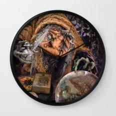 Rucus Studio Gypsy Hag Wall Clock