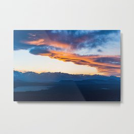Sierra Wave over June Lake Loop Metal Print
