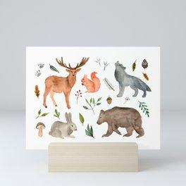 Forest team Mini Art Print