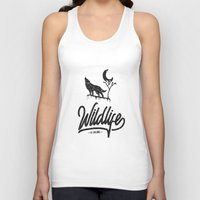 wildlife Tank Tops featuring Wildlife by wege17