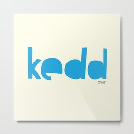 days | kedd Metal Print