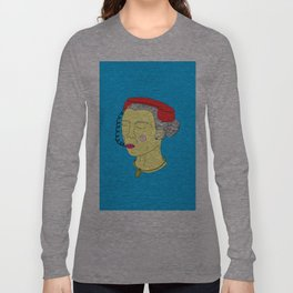 Anxious Lady Long Sleeve T-shirt