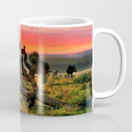 Sunset at Joshua Tree National Park, California, USA Coffee Mug