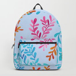 Colourful vines Backpack