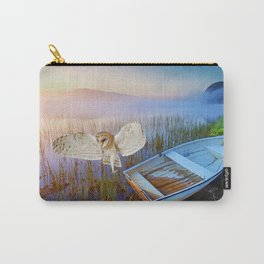 Barn Owl and Boat Carry-All Pouch