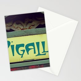 Art Nouveau and Iconic Pigalle - Old Paris style Stationery Cards