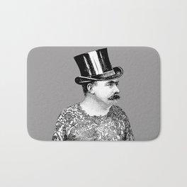 Tattooed Victorian Man Bath Mat