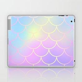 Pink Blue Mermaid Tail Abstraction Laptop & iPad Skin