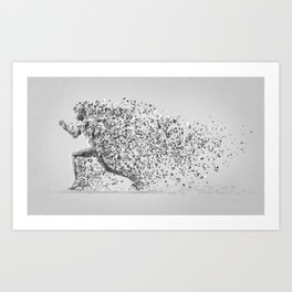 The Celestial Messenger Art Print