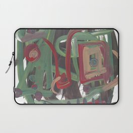 Abstract portrait 37 Laptop Sleeve