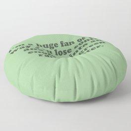 Green Rage Monster Floor Pillow