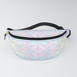 Pastel Triangles 2 Fanny Pack