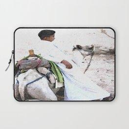 Bedouin Boy in watercolour Laptop Sleeve