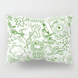School Chemical pattern #1 Pillow Sham