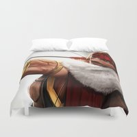 rogue Duvet Covers featuring Rogue by KlsteeleArt