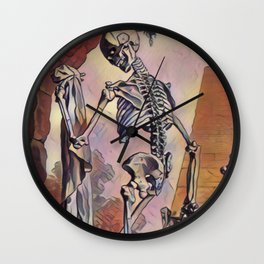 Dancing with the Dead Wall Clock