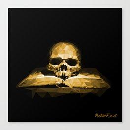 Memento mori - california sun Canvas Print