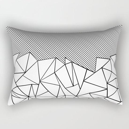 Ab Lines 45 Rectangular Pillow