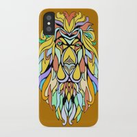 metallic iPhone & iPod Cases featuring Metallic Lion by J&C Creations