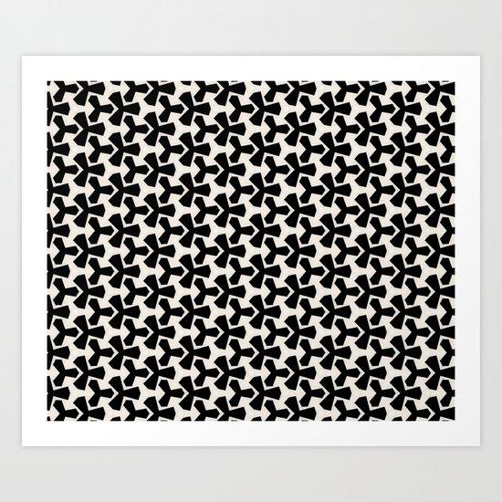 Van Klaveren Pattern Art Print