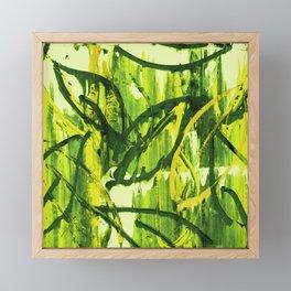 Summer Forest Digital Version Framed Mini Art Print