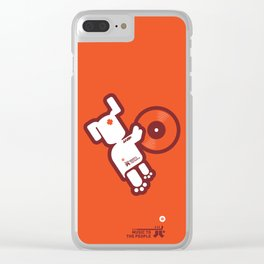 UNDO | Music to the people 03 Clear iPhone Case