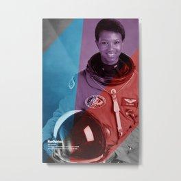 Women of NASA: Mae Jemison Metal Print