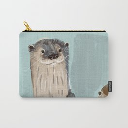 New World otters Carry-All Pouch