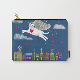 Kitty Angel Carry-All Pouch