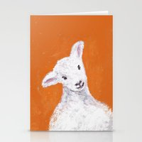 sheep Stationery Cards featuring Sheep by KeithKarloff