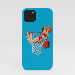 the bigger the hoop iPhone Case